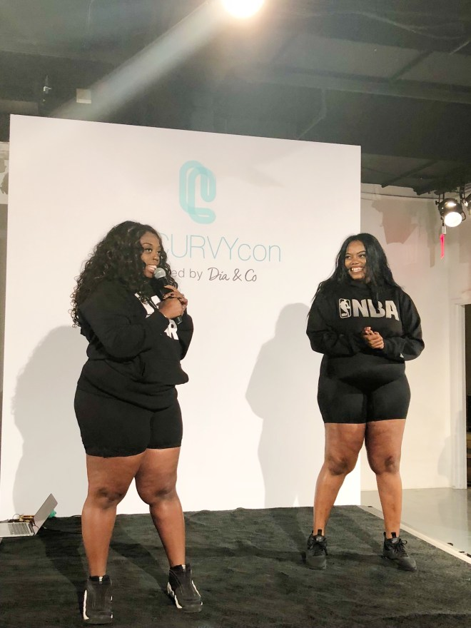 theCurvycon Fitness Session Presented by Target, beyonce plus size dancer, thecurvycon, plus size fittness