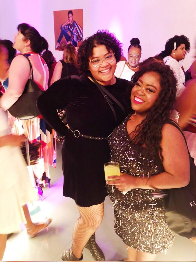 theCURVYcon, Macy's plus size, platinum party, plus size event