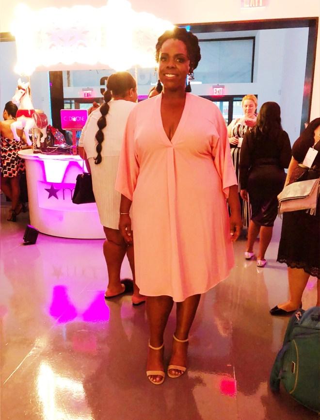 theCURVYcon, Macy's plus size, platinum party, plus size event, plus size fashion