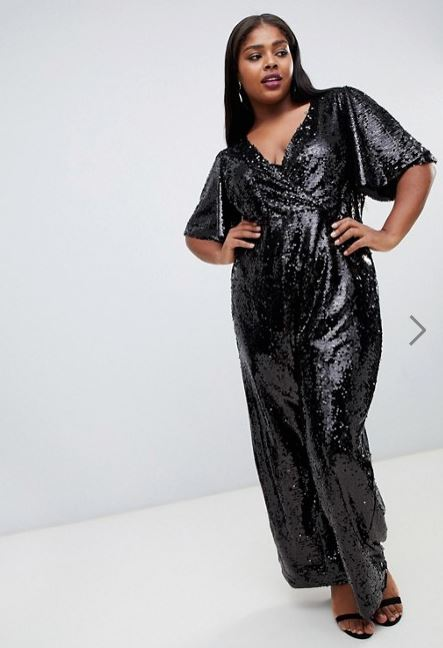 plus size seq jumpsuit