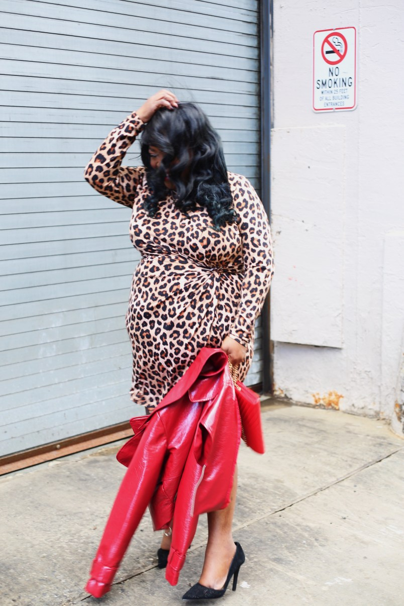 Wearing Animal Print While Over 40, chicago blogger