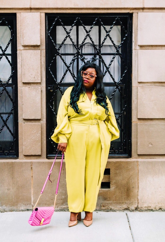 plus size fashion, feminine pantsuit, Eloquii, plus size street fashion, Chicago blogger, Plus Size neon, New York Blogger, plus size blogger, fashion blogger, Gabi Fresh, Essie Golden, I am beauti curve, gorgeous in grey, hayet rida, i am fab ellis, garner style, lisa a la mode, jackie aina, And I Get Dressed, itsmekellieb, blogger of color, black beauty blogger, cece olisa, thecurvycon, gavyn taylor, brown beauty blogger, the fat girl of fashion, thefatgirloffashion.com, LaToya Wright, @thefatgirloffashion, @fatgirl_fashion, simply curvee, Natalie in the city, totally tot