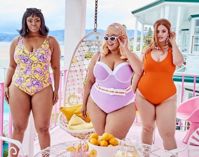 Gabi Fresh X Swimsuitsforall Retro Barbie