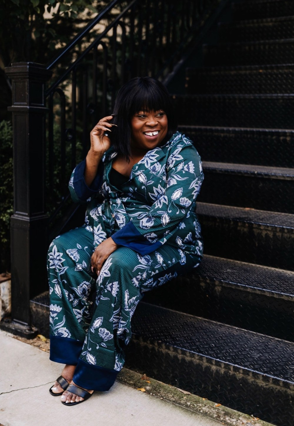 plus size jumpsuit, plus size fashion, plus size blogger, chicago blogger, Eloquii