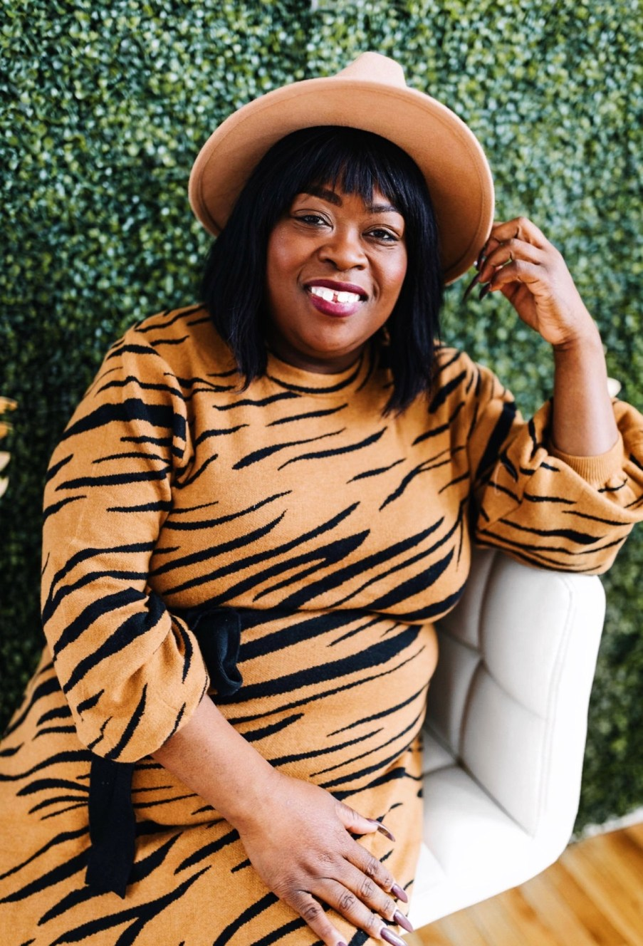 5 ways to get ready for the new year, animal print dress, new year, 2020, Chicago blogger