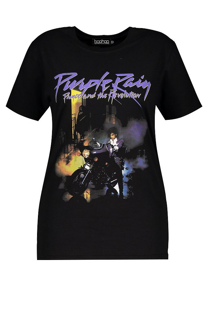 Prince Purple Rain Short Sleeve Graphic T-Shirt