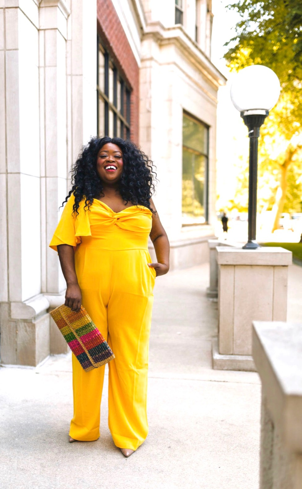 jumpsuit perfect for every occasion, plus size yellow jumpsuit