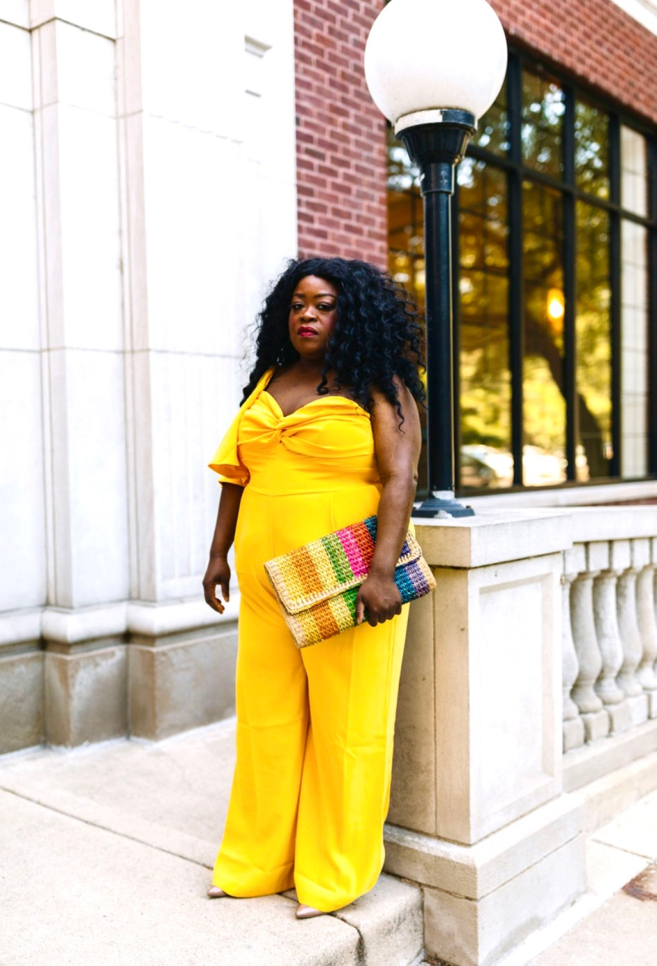 jumpsuit perfect for every occasion, eloquii, Chicago blogger