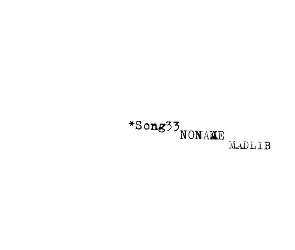 Song 33 Noname