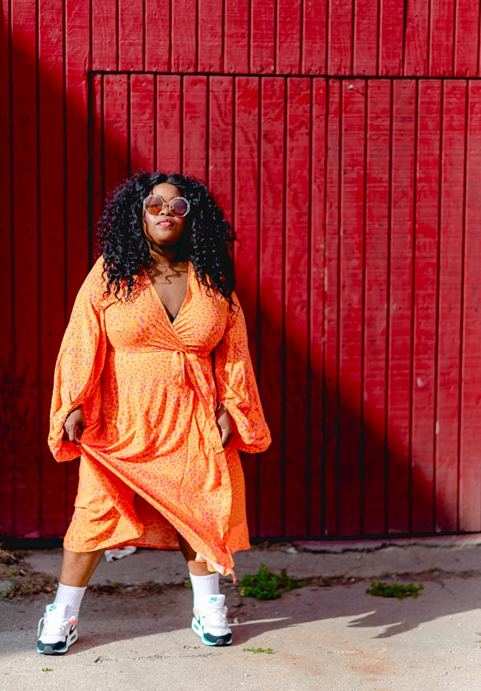 Nike, Plus-Size Streetwear, How To Plus-Size Streetwear: Dresses, Skirts, and Sneakers, thefatgirloffashion