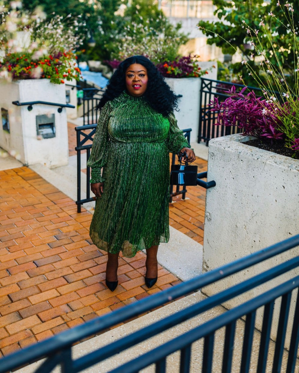 Well Spotted In Eloquii, plus-size party dress