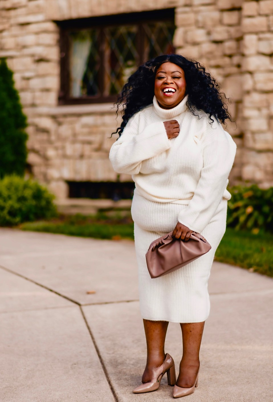 Chicago blogger, plus-size style blogger