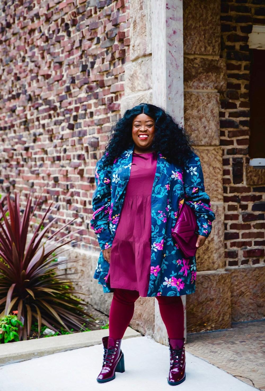 Dark Skinned Women, The Plus-Size Community & Social Media, plus-size fall fashion