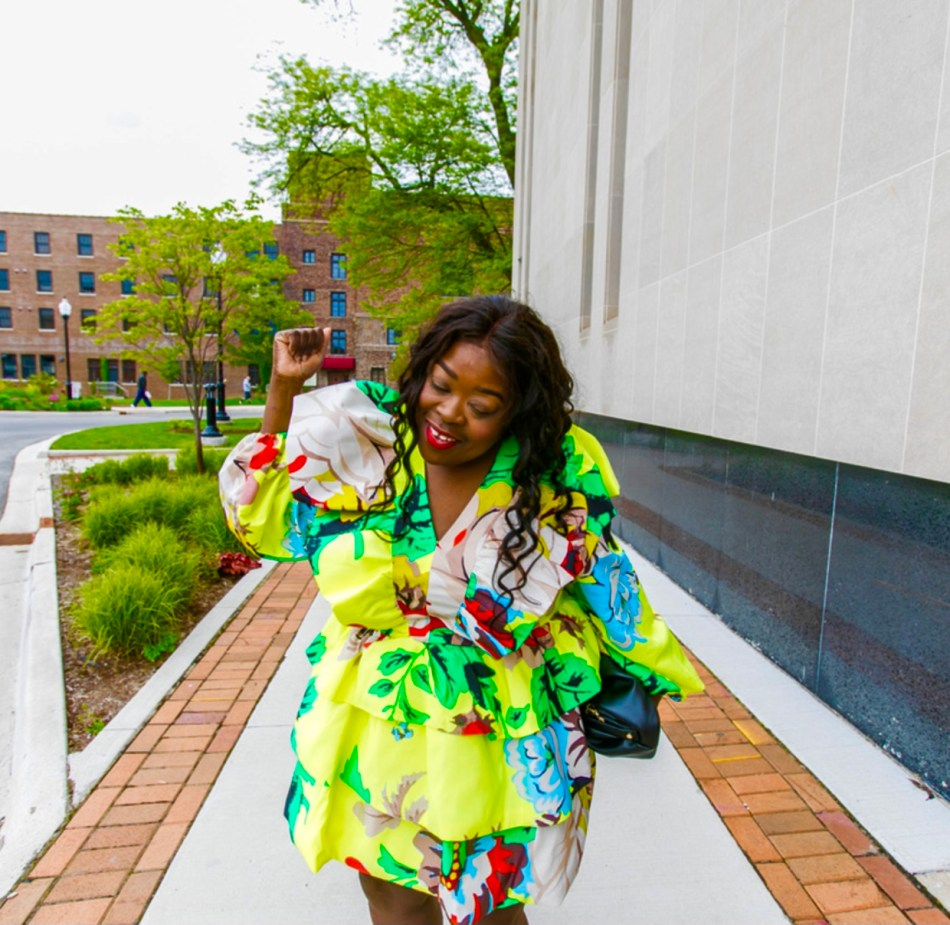 Christopher John Rogers, ALEXIS and RIXO For Target 5 Things I Wish Floral Long Sleeve Ruffle DressI Knew plus-size fashion