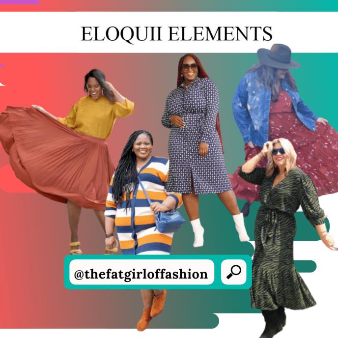 Eloquii Elements By Walmart: Fall Looks