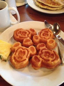 Mickey shaped happiness for my tummy