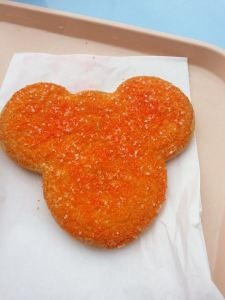 The final Mickey shaped item of the trip...so good