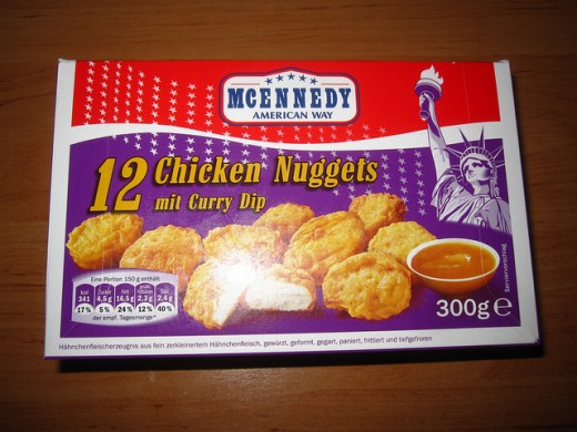 What's the international equivalent of the chicken nugget?