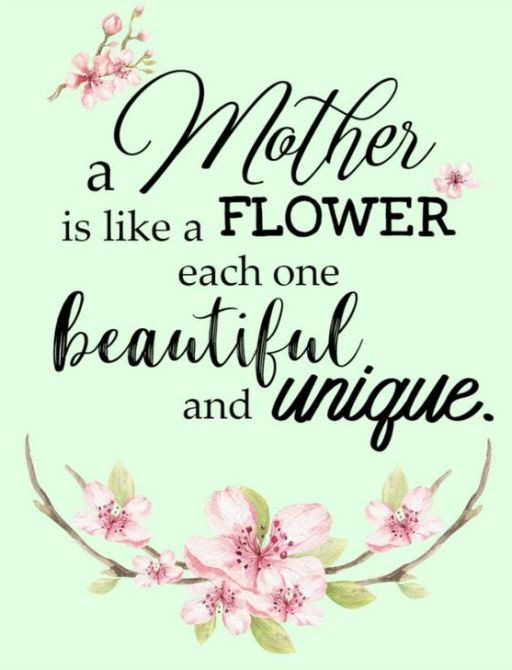 Mothers Day Quotes About Flowers