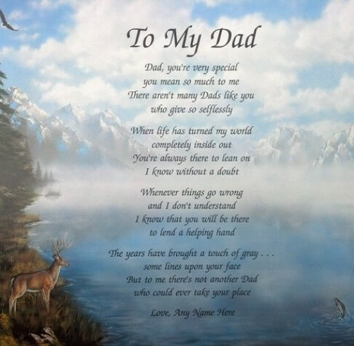 Best Fathers Day Poems 2019
