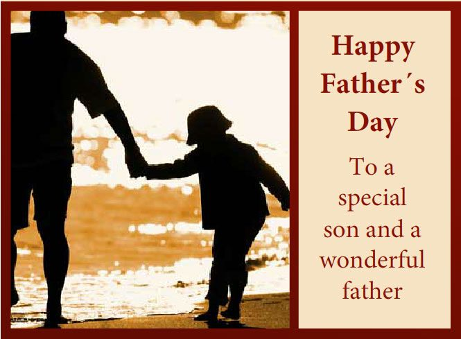 Happy Fathers Day Greetings From Son