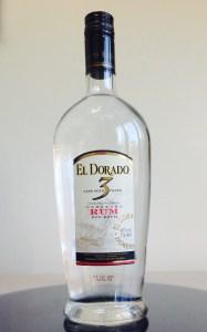 El Dorado 3 Year Demerara White Rum review by the fat rum pirate