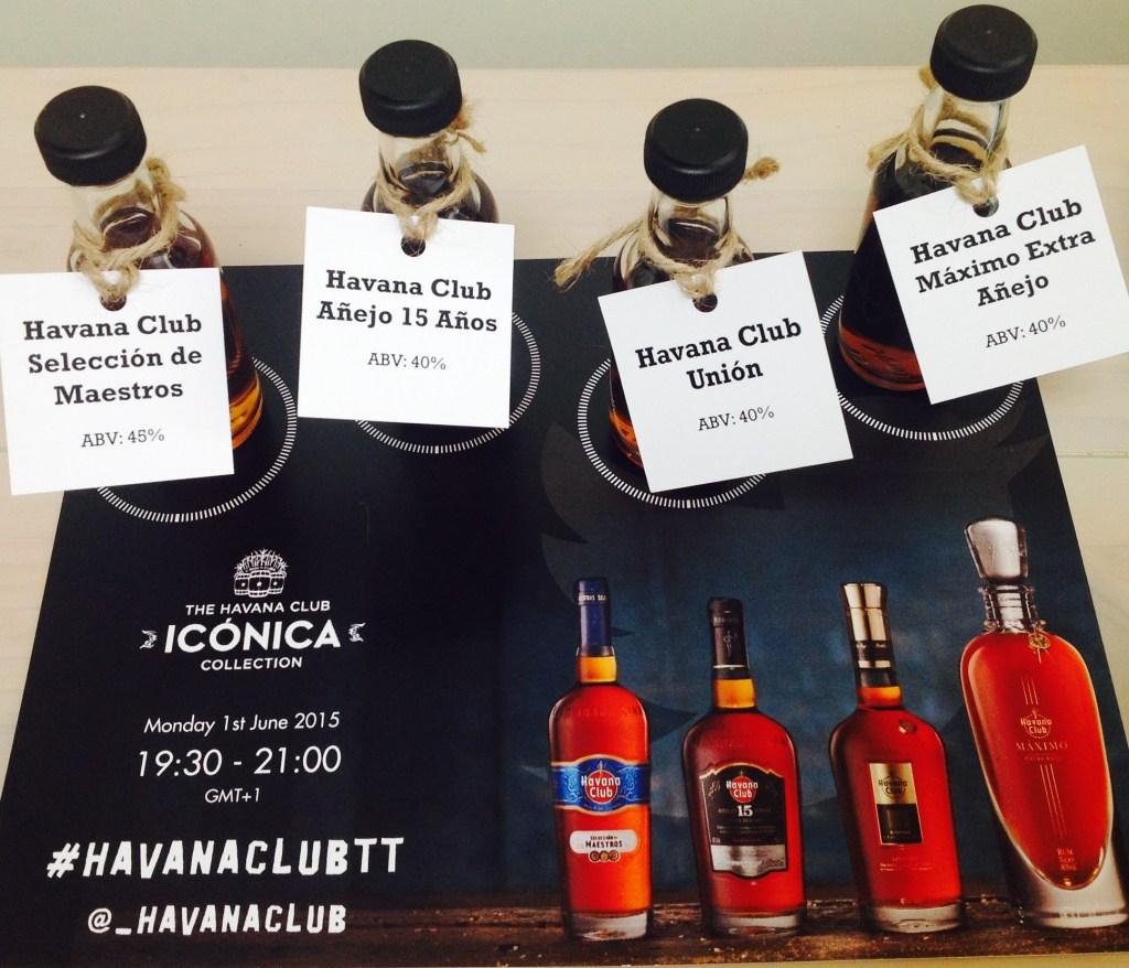 Havana Club Iconia Collection the fat rum pirate rum