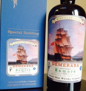 Silver Seal Demerara Enmore 2002 review by the fat rum pirate