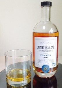Mezan Panama 1999 Rum review by the fat rum pirate