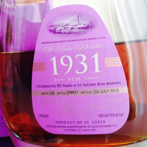 1931 2nd Edition Rum Review by the fat rum pirate
