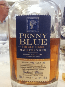 Penny Blue Cask #28 Rum review by the fat rum pirate