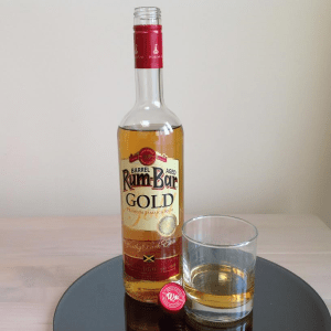 Rum Bar Gold Rum Review by the fat rum pirate