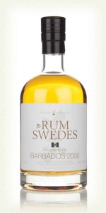 Rum Swedes Barbados Rum Review by the fat rum pirate