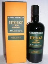 Velier Uitvlugt 1996 Modified GS Rum Review by the fat rum pirate