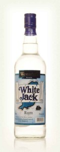 White Jack Westerhall Rum Review by the fat rum pirate