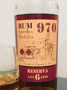 Rum 970 Agricola de Maderia Reserva Ans 6 Anos Rum review by the fat rum pirate