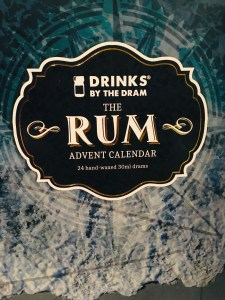 Drinks by the Dram The Rum Advent Calendar review by the fat rum pirate