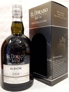 El Dorado Rare Collection Albion 2004 rum review by the fat rum pirate