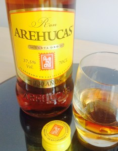 Arehucas Carta Oro Rum Review by the fat rum pirate