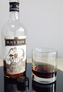 BLACK MAGIC spiced rum review by the fat rum pirate