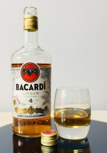 Bacardi Anejo Cuatro Aged 4 Years Rum Review by the fat rum pirate