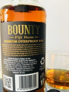Bounty Fiji Rum Premium Overproof Rum