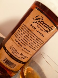 Bounty Saint Lucia Rum Premium Dark Rum Review by the fat rum pirate