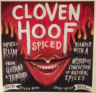 Cloven Hoof Spiced Rum Review by the fat rum pirate