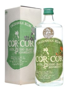 Cor Cor Green Okinawan Rum Review by the fat rum pirate