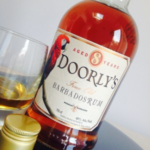 Doorly's 8 year old rum review by the fat rum pirate