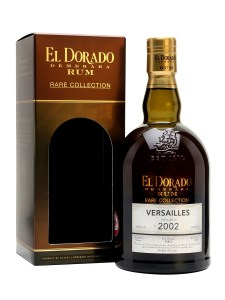 EL DORADO VERSAILLES 2002 Rum review by the fat rum pirate rare collection