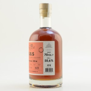 S.B.S The 1423 Single Barrel Selection Denmark 2014 rum review by the fat rum pirate