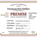 Foursquare Rum Distillery Premise rum review by the fat rum pirate