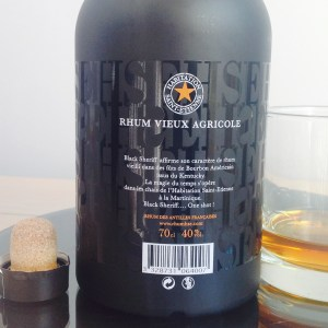 HSE Black Sherrif Rum Review by the fat rum pirate